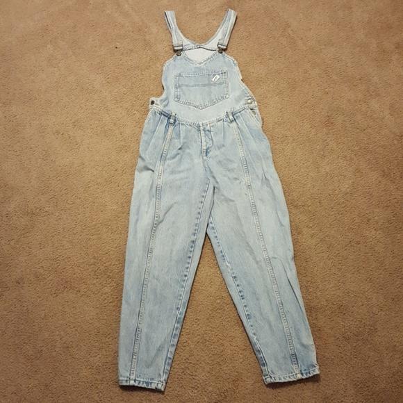 e367bfb41a4e Guess Denim - Vintage Guess Jeans Overalls Blue Size 3 Women s